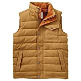 Timberland Mt Davis Waxed Down Vest - Men's Medal Bronze Large