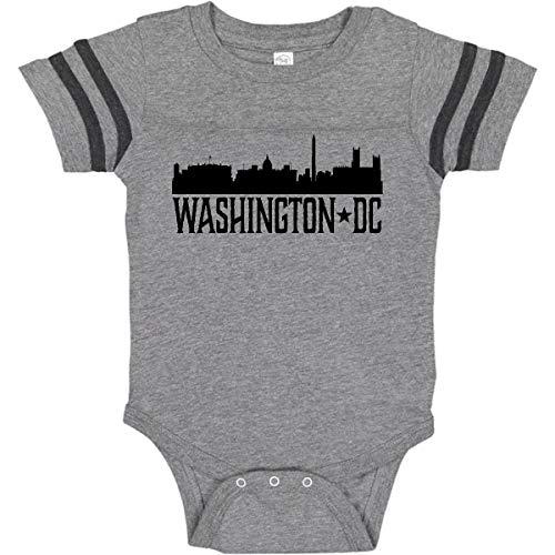 inktastic - Washington Infant Creeper 18 Months Football Heather and Smoke 2c2b7 -