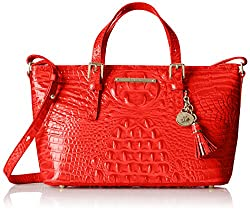 Brahmin Mini Asher Convertible Top Handle Bag