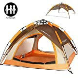 ZOMAKE Automatic Camping Tent 2 3 4 Person - Protable Dome Quick up