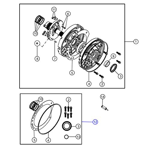 mopar 42rle transmission oil pump gasket package - 4883260ac: amazon co uk:  car & motorbike