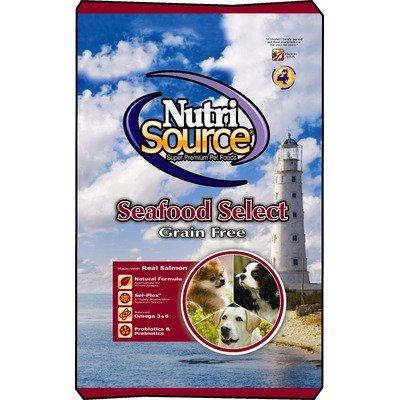 NutriSource Seafood Select Grain Free Dog Food, 30 lbs., My Pet Supplies