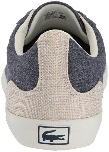 Men's Canvas Navy Sneaker Lerond Lacoste 1ndAqUfxA