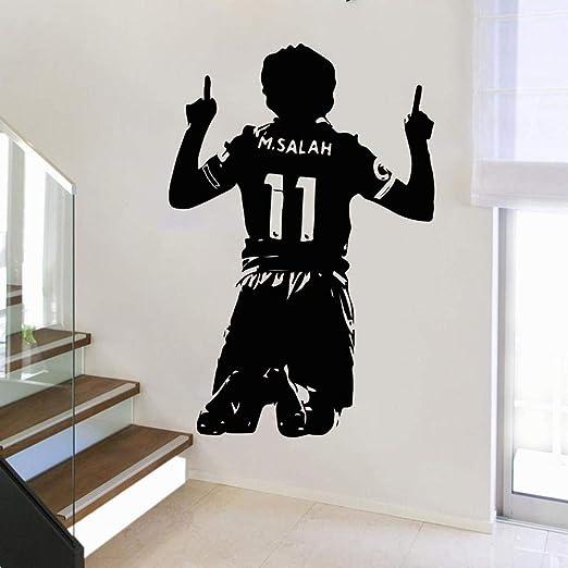 haotong11 Gran Mohamed Salah Egipto Fútbol Etiqueta de la Pared ...