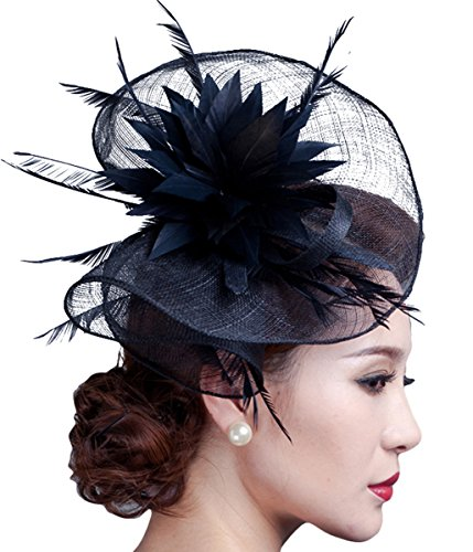 Feath (Black Derby Hats)