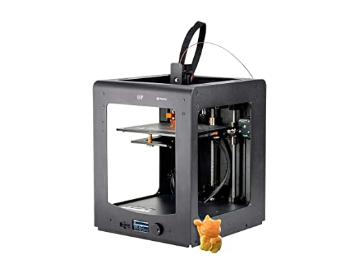 Monoprice Maker Ultimate 3D Printer With Large Heated (200 x 200 x 175mm )  Build Plate, MK11 DirectDrive Extruder + Free Sample PLA Filament & 4GB