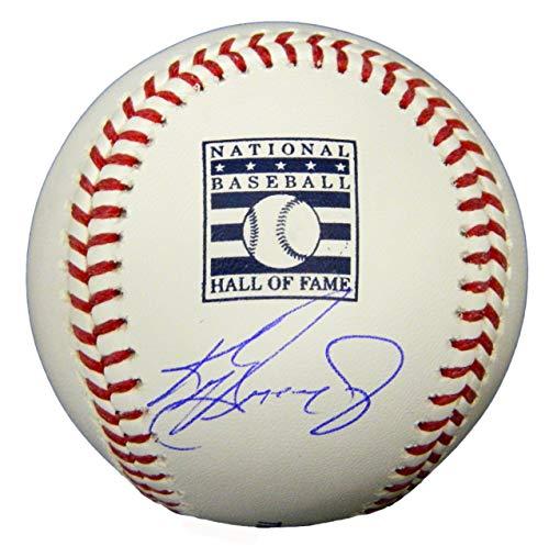 Ken Griffey Jr. Signed Rawlings Hall of Fame Logo Official MLB Baseball
