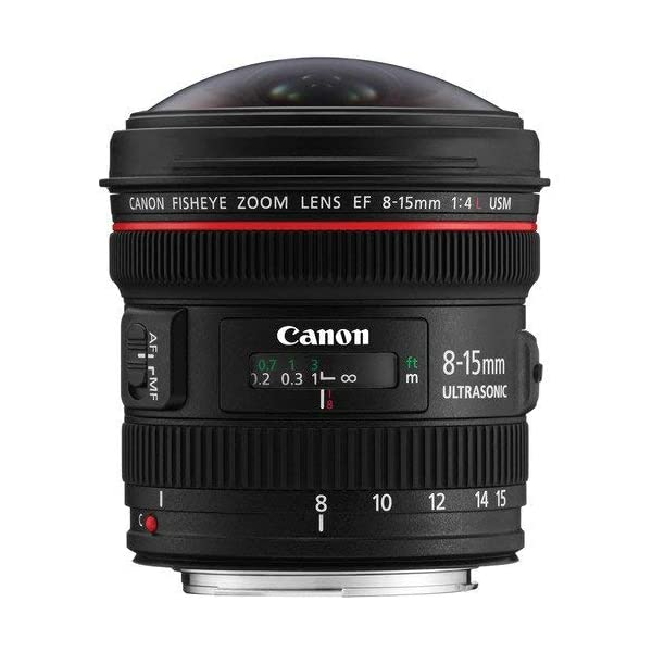 RetinaPix Canon EF 8-15mm F/4 Fisheye Lens for Canon DSLR Camera
