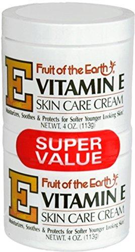 Fruit Of The Earth Fruit Of The Earth Vitamin E Skin Care Cream, 4 -