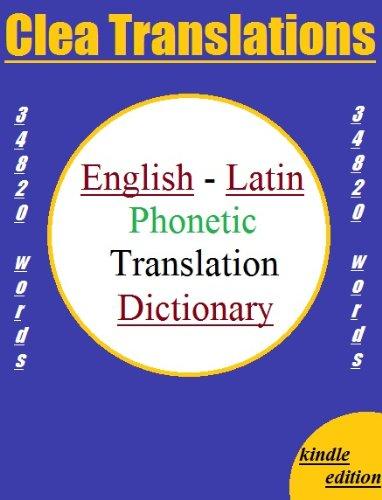 Englsih To Latin Translator
