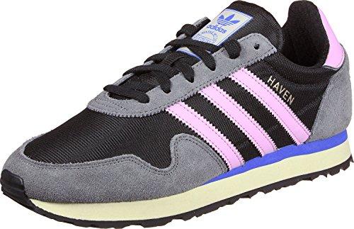 Adidas Paradis Des Femmes Avec Des Chaussures De Course, Noir Rose (negbas / Rosmar / Gricua)