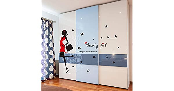 Amazon.com: Pegatinas de pared para dormitorio, 1004 ...