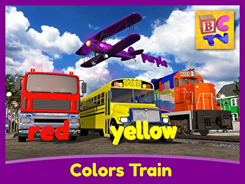 Color Train! - Learning Colors for - Orange Airplanes