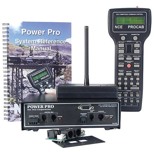NCE NCE5240002 Power Pro Starter Set w/Radio, PH-PRO-R/5A Dcc Starter