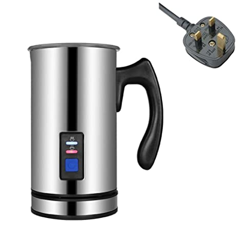 SYSWJ Cafetera Electric Coffee Frother Stainless Steel Milk ...