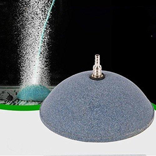 FZZ698 Fish Tank Pump Hydroponics Oxygen Air Bubble Disk Stone Aquarium Aerator 60mm ()