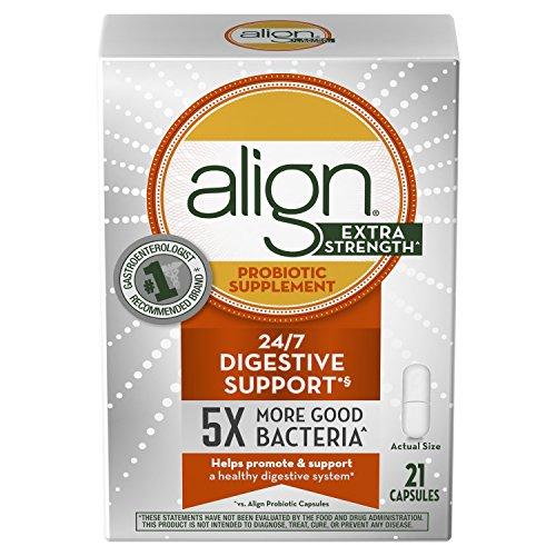 Align Extra Strength Probiotic Supplement Capsules, 21 Count