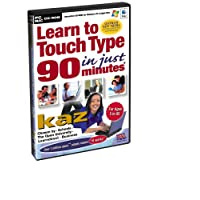 KAZ Version 19 - Learn To Touch Type in 90 Minutes (PC)