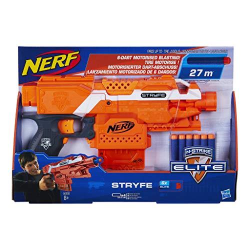 NERF N-Strike Elite Strife Blaster (Best One Handed Nerf Gun)