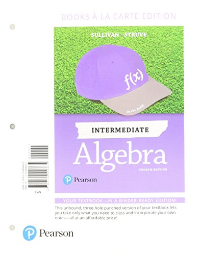 Intermediate Algebra, Books a la Carte Edition Plus MyLab Math -- Access Card Package (4th Edition)