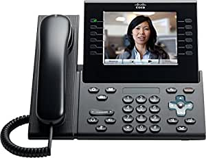 """Cisco 9971 - Teléfono IP (640 x 480 Pixeles, 14.22 cm (5.6""""), G.711a, G.722, G.729a, H.264/AVC, 30 fps, 640 x 480 Pixeles) Carbón vegetal"""