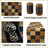 Prairie Patch Table Runner, Place Mat and Napkin Set 27 Piece