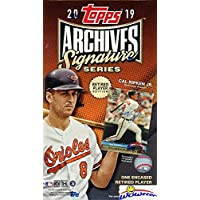 $39 » 2019 Topps Archives Signature Series Retired Edition MLB Factory Sealed HOBBY BOX with…