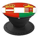 Austria%2DHungarian flag Pop Socket phon