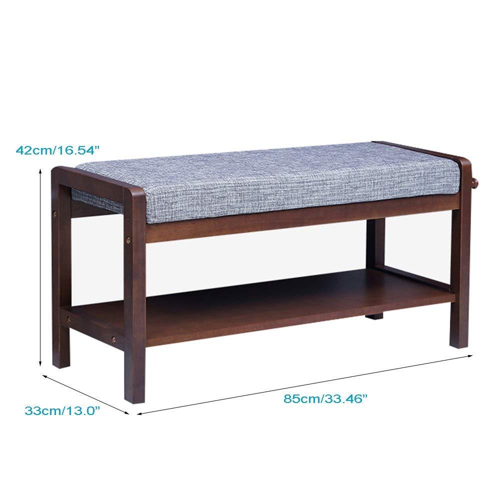 Amazing Amazon Com Haofay Wooden Shoe Bench Entryway Storage Spiritservingveterans Wood Chair Design Ideas Spiritservingveteransorg