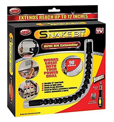 As Seen on TV SN-MC12 Snake Bit Drill Bit Extender ()