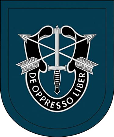 Army 5th Special Forces Group Wall Window Vinyl Decal Sticker Military U.S