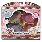 Girl Gourmet Cupcake Forms use with Girl Gourmet