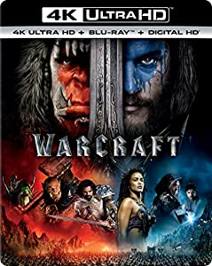 Cover Image for 'Warcraft [4K Ultra HD + Blu-ray + Digital HD]'