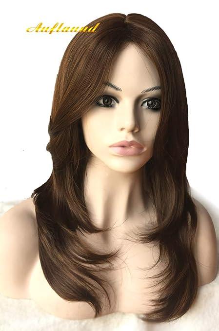 Natural Ombre Blonde Straight Wigs Amorwig Shoulder Length Long