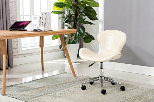 Porthos Home Brynne Office Chair, Cream