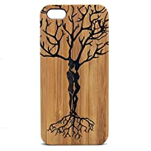 Ketubah Love Tree iPhone 8 Plus Case/Cover by iMakeTheCase   Tree of Life Couples Jewish Judaism HaShem   Twin Flame. Eco-Friendly Bamboo Wood Cover   Valentine's Day Gift