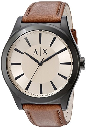 Armani-Exchange-Mens-AX2329-Brown-Leather-Watch