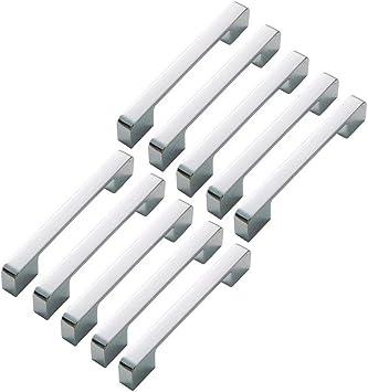 Barras de acero inoxidable para tirador de armario de cocina o ba/ño 160 mm