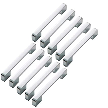 FBSHOP(TM) 10 piezas cuadrado de barra armario tirador cajón ...