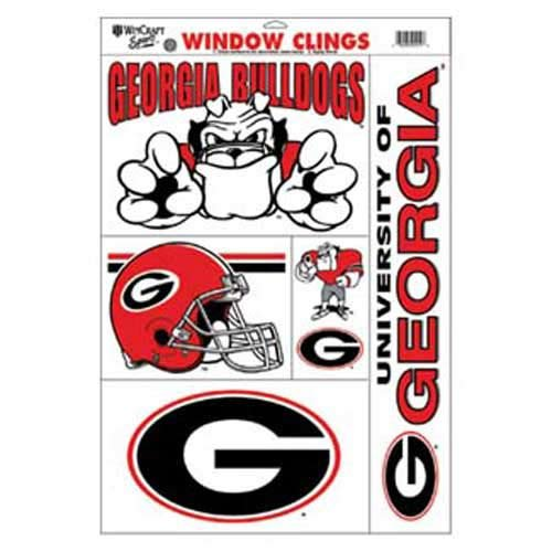University Georgia Ncaa Bulldogs (WinCraft NCAA University of Georgia 02912011 Multi Use Decal, 11