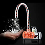 Temperature Display Faucet - Electric Heating Faucet - 220V Digital Display Instant Heating Electric Water Heater Faucet Tap (360 Rotatable Faucet)