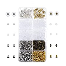 Outus 7 Styles Earring Back Kit Earring Safety Backs