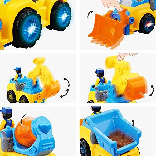 Tractor Trailer Take Apart Toys, Farm Construction ...