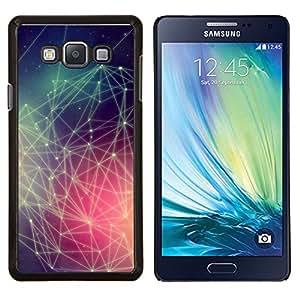 TECHCASE---Cubierta de la caja de protección para la piel dura ** Samsung Galaxy A7 ( A7000 ) ** --Colores Hipster Patrón