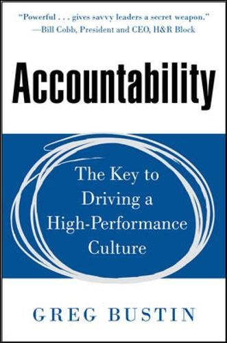Accountability Driving High Performance Culture Business product image