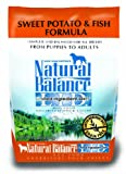 Natural Balance Limited Ingredient Diets Dry Dog Food, Grain Free, Sweet Potato and Fish Formula, 4.5-Pound