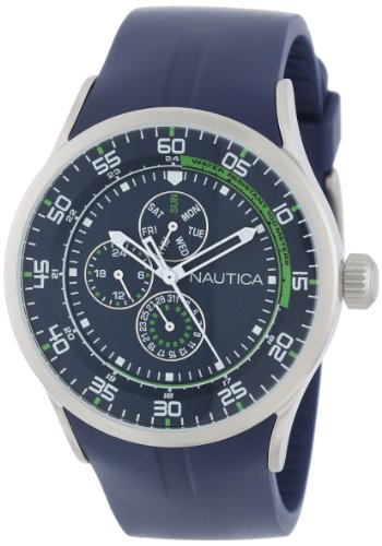 Nautica Unisex N14665G NST 17 Multi-Function Watch