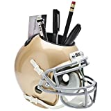 NOTRE DAME FIGHTING IRISH NCAA Schutt MINI Football Helmet OFFICE PEN/PENCIL/BUSINESS CARD HOLDER