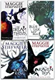 Raven Cycle Series Collection 4 Books Set By Maggie Stiefvater (The Raven King, Blue Lily, Lily Blue, The Dream Thieves, The Raven Boys)