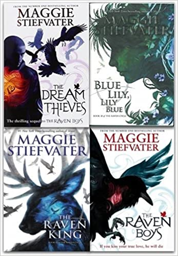 Image result for raven cycle box set